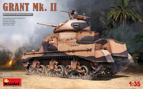 Grant Mk. II, 1:35 (pidemmällä toimitusajalla)