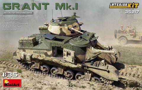 Grant Mk.I Interior Kit, 1:35 (Pidemmällä toimitusajalla)