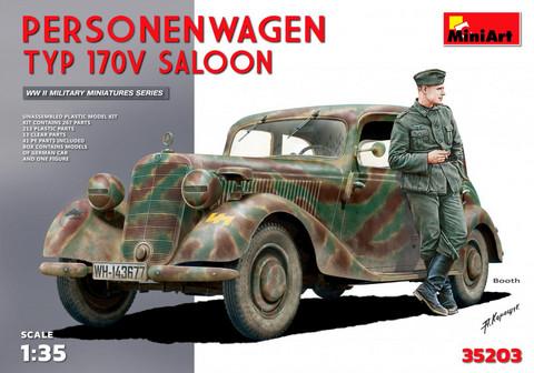 Personenwagen Typ 170V Saloon, Special Edition, 1:35 (pidemmällä toimitusajalla)