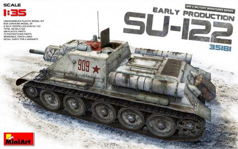 SU-122 (Early Production), 1:35 (Pidemmällä toimitusajalla)