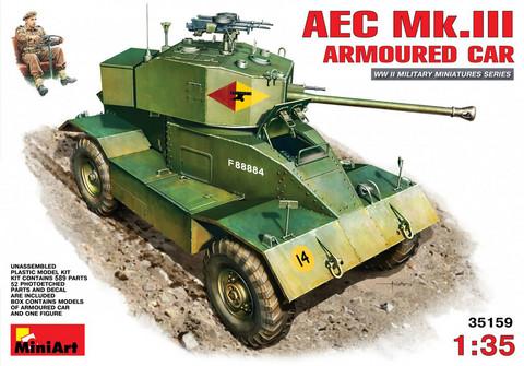 AEC Mk 3 Armoured Car, 1:35 (pidemmällä toimitusajalla)