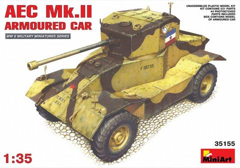 AEC Mk 2 Armoured Car, 1:35 (pidemmällä toimitusajalla)