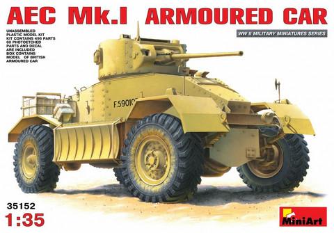 AEC Mk 1 Armoured Car, 1:35 (pidemmällä toimitusajalla)