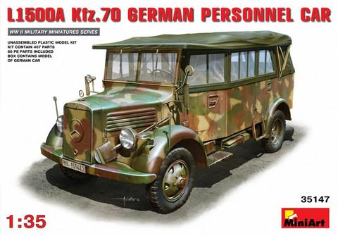 L1500A (Kfz.70) German Personnel Car, 1:35 (pidemmällä toimitusajalla)