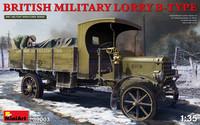 British Military Lorry B-Type, 1:35 (pidemmällä toimitusajalla)