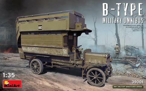 B-Type Military Omnibus, 1:35 (pidemmällä toimitusajalla)