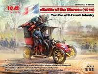 Battle of the Marne (1914),Taxi car with French Infantry, 1:35 (pidemmällä toimitusajalla)