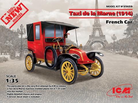 Taxi de la Marne (1914), French Car, 1:35 (pidemmällä toimitusajalla)