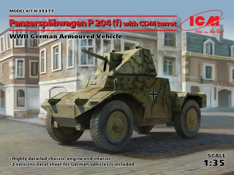 Panzerspähwagen P 204(f)with CDM turret, WWII German Armoured Vehicle, 1:35 (pidemmällä toimitusajalla)
