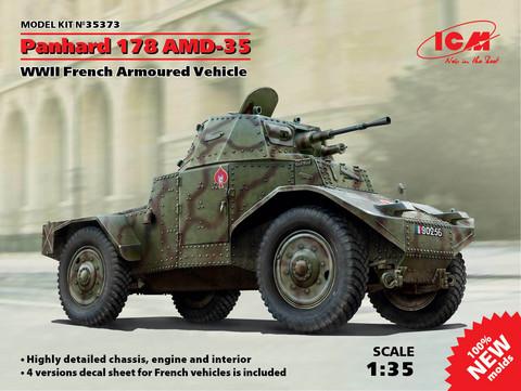 Panhard 178 AMD-35, 1:35 (pidemmällä toimitusajalla)