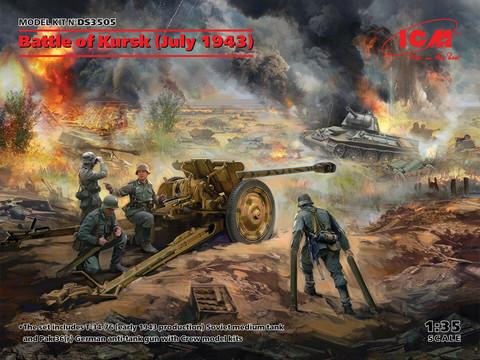 Battle of Kursk (July 1943), 1:35 (pidemmällä toimitusajalla)