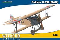 Fokker D.VII MAG Weekend Edition, 1:48 (Pidemmällä toimitusajalla)