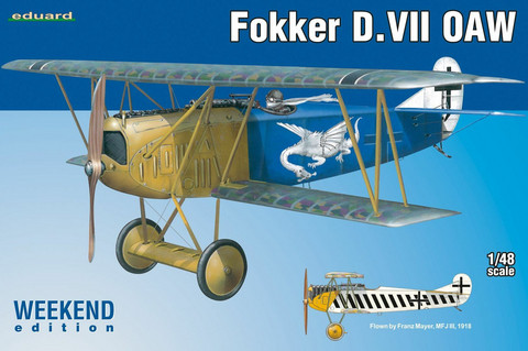 Fokker D.VII OAW Weekend Edition, 1:48 (Pidemmällä toimitusajalla)