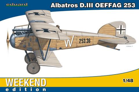 Albatros D.III OEFFAG 253, 1:48 (Pidemmällä toimitusajalla)