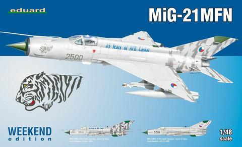 MiG-21 MFN Weekend Edition, 1:48 (Pidemmällä toimitusajalla)
