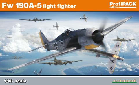 Fw 190A-5 light fighter, Profipack, 1:48 (Pidemmällä toimitusajalla)