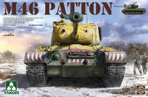 US Medium Tank M-46 PATTON, 1:35 (Pidemmällä toimitusajalla)