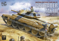 Crusader Mk.III - British Cruiser Tank Mk. VI, 1:35 (Pidemmällä toimitusajalla)