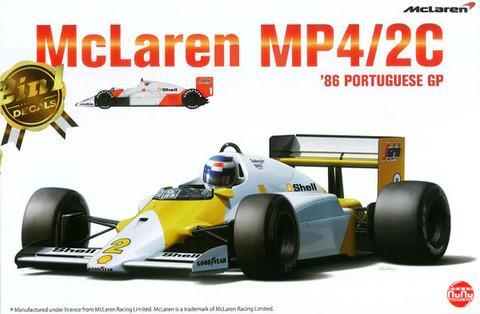 McLaren MP4/2C '86 Portuguese GP, 1:20 (pidemmällä toimitusajalla)