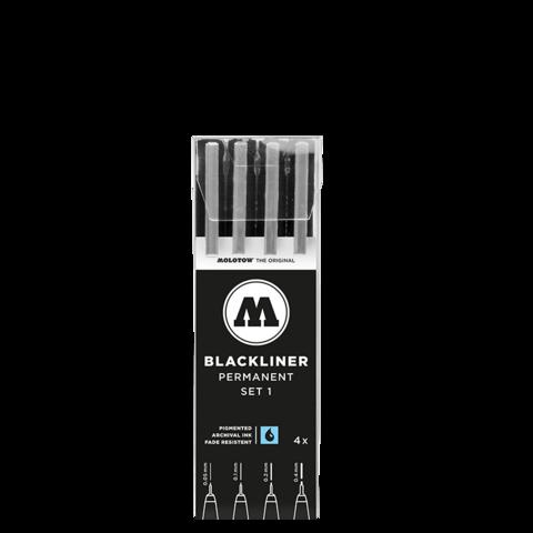 Blackliner Set 1 (4 kynää)