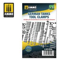 German Tanks Tool Clamps, 1:35