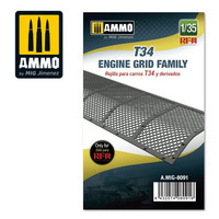 T34 Engine Grid Family, 1:35