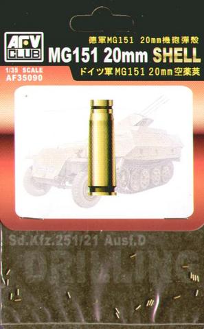 MG151 20mm Shell, 1:35