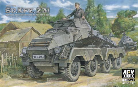 Sd.Kfz. 231 Schwerer Panzerspähwagen, 1:35