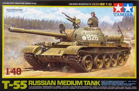 Russian Medium Tank T-55, 1:48