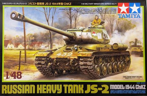Russian Heavy Tank JS-2 Model 1944 ChKz, 1:48 (pidemmällä toimitusajalla)