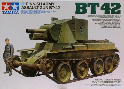 Finnish Army Assault Gun BT-42, 1:35 (pidemmällä toimitusajalla)