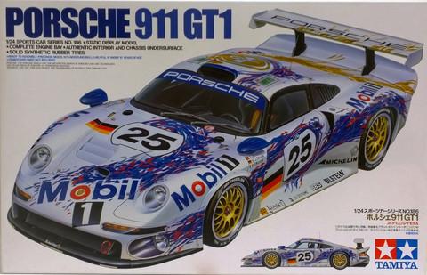 Porsche 911 GT1, 1:24 (pidemmällä toimitusajalla)