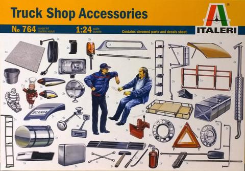 Truck Shop Accessories, 1:24 (pidemmällä toimitusajalla)