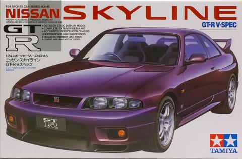 Nissan Skyline GT-R R33, 1:24 (pidemmällä toimitusajalla)