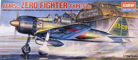 A6M5c Zero Fighter Type 52c, 1:72