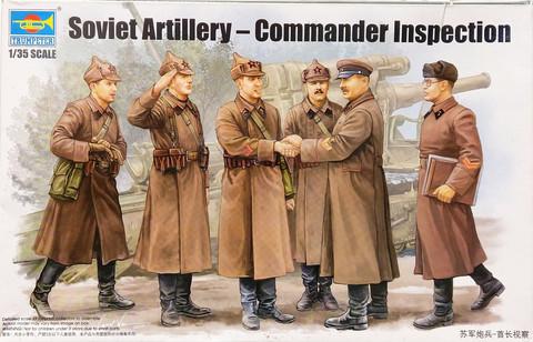 Soviet Artillery, Commander Inspection, 1:35