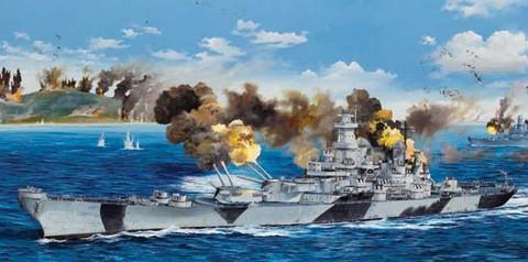 USS Iowa BB-61, 1:200 (Pidemmällä toimitusajalla)