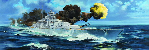 German Bismarck Battleship, 1:200 (Pidemmällä toimitusajalla)