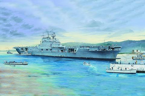 USS Enterprise CV-6, 1:200 (Pidemmällä toimitusajalla)