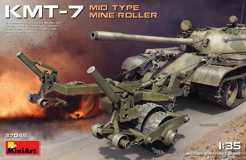 KMT-7 Mid Type Mine-Roller, 1:35