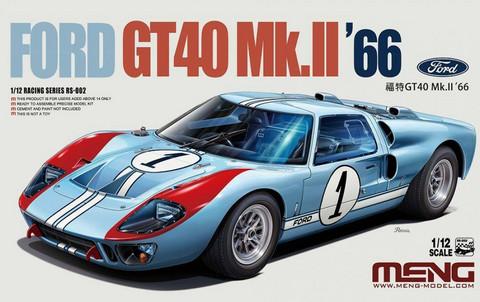 Ford GT40 Mk.II '66, 1:12 (pidemmällä toimitusajalla)