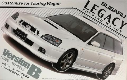 Subaru Legacy Touring Wagon, 1:24 (pidemmällä toimitusajalla)