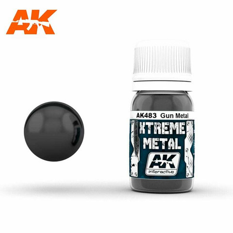 Xtreme Metal, Gun Metal 30ml