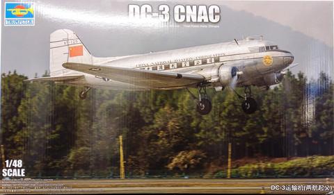 DC-3 CNAC, 1:48 (pidemmällä toimitusajalla)