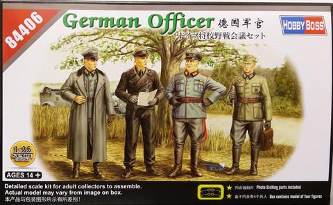 German Officer, 1:35
