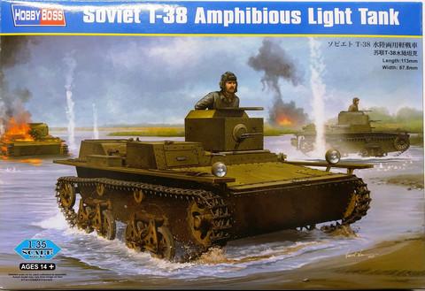 Soviet T-38 Amphibious Light Tank, 1:35 (pidemmällä toimitusajalla)