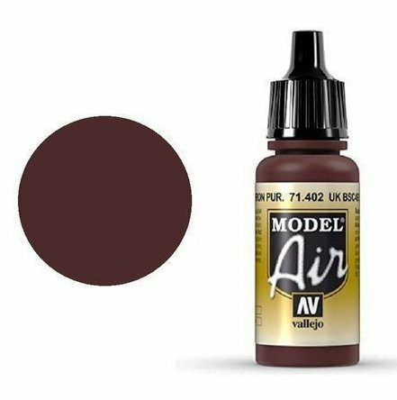 UK BSC 49 Purple Brown, Model Air 17ml
