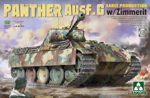Panther Ausf. G Early Production w/ Zimmerit, 1:35 (pidemmällä toimitusajalla)
