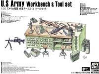U.S. Army Workbench and Tool set, 1:35