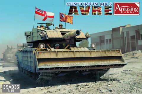 Centurion Mk.5 AVRE, 1:35 (pidemmällä toimitusajalla)